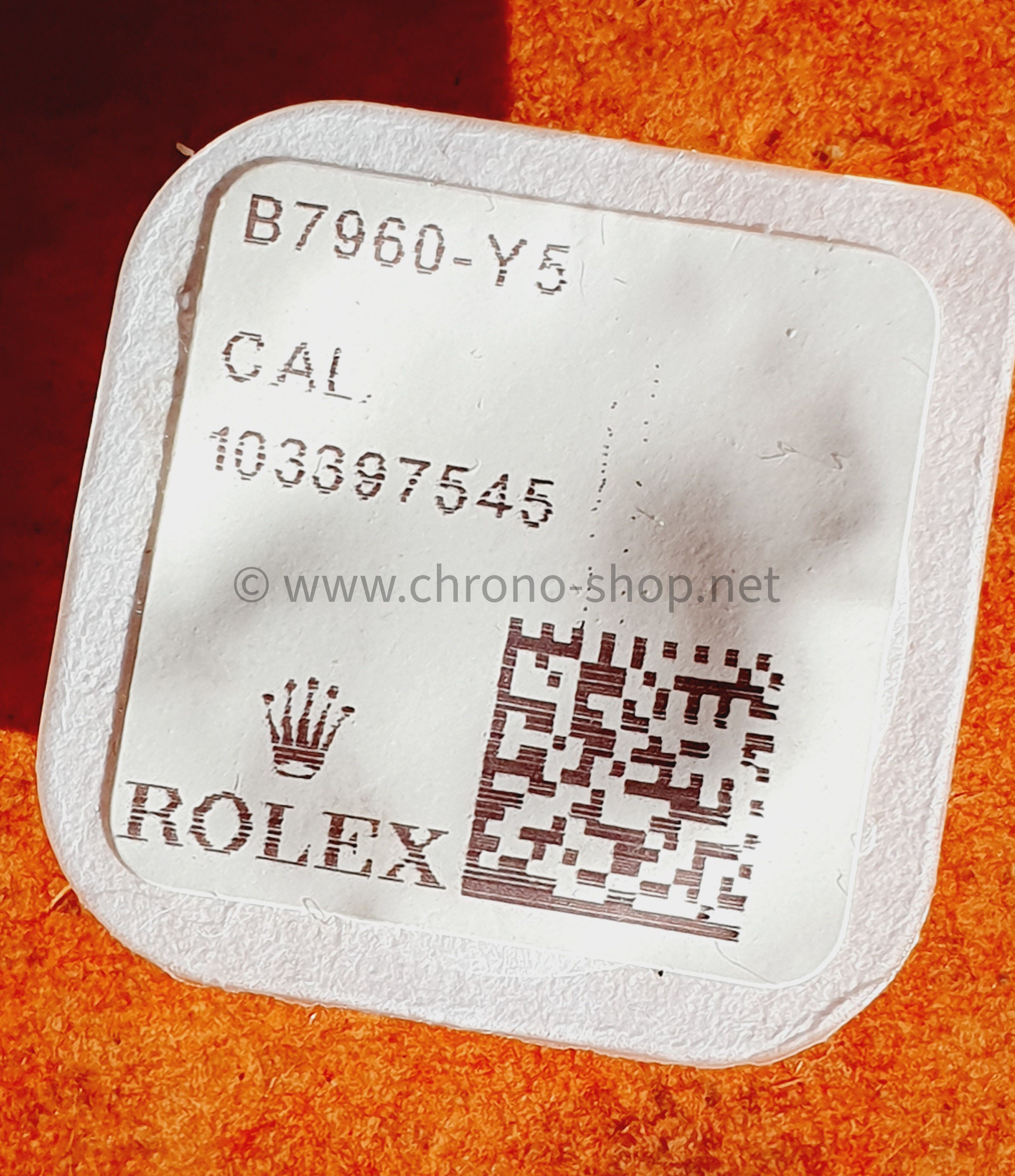 Rolex Genuine factory 1556,1525 Ref 7960 Screws for Date Indicator Seating New Package ref 7960-Y5,7960, B7960