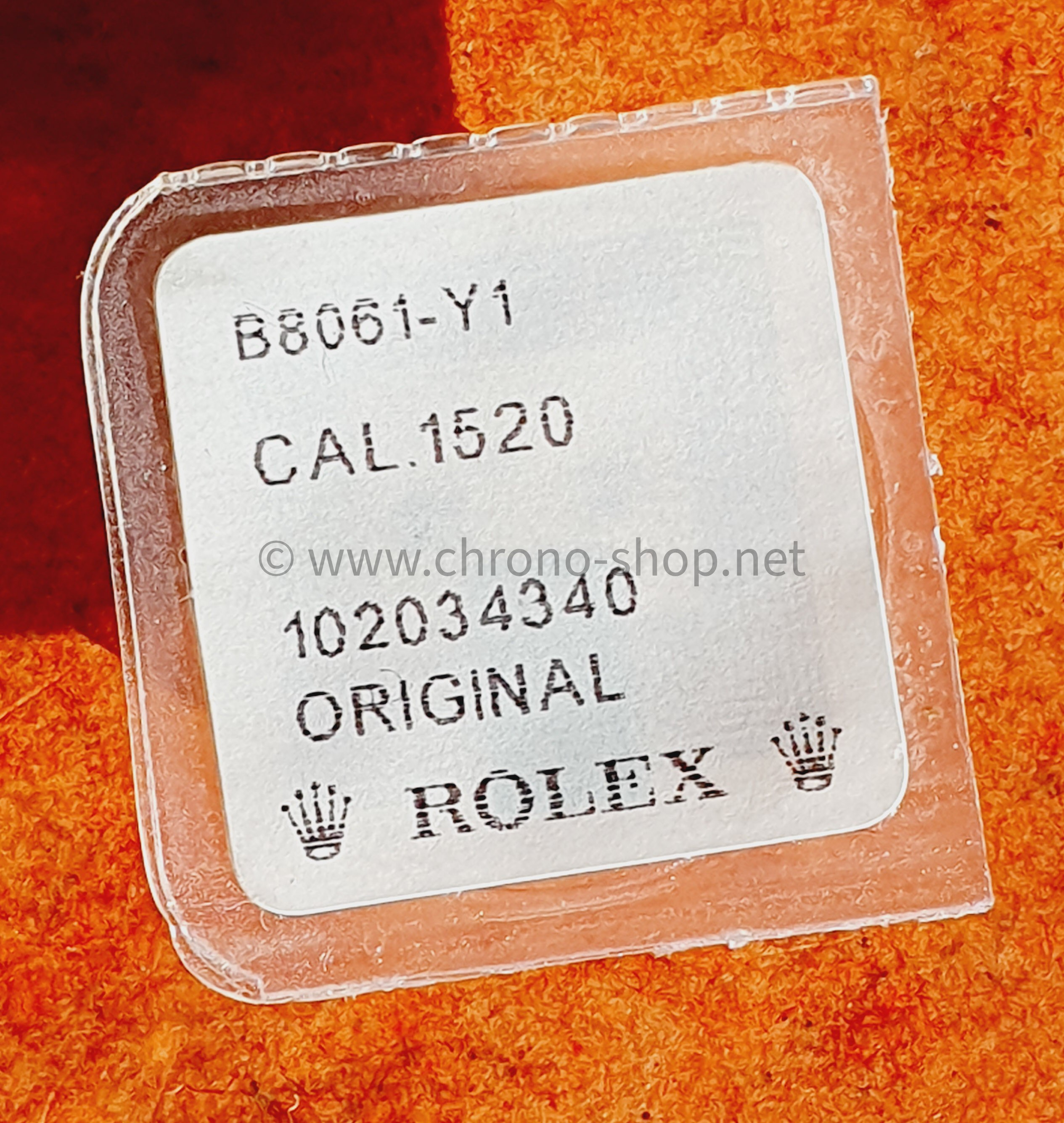 Rolex fourniture horlogerie Montres Calibre Automatique cal 1520,1530,1570 Raquette ref 8061,B8061-Y1