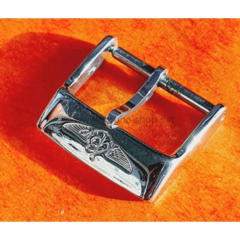 BREITLING BOUCLE ACIER ARDILLON 16/18mm MONTRES BREITLING POUR BRACELET CUIR, RUBBER, SILICONE, CAOUTCHOUC