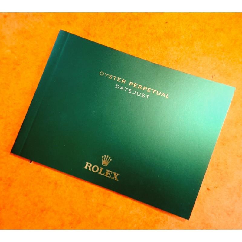 Rolex livret, manuel, notice, mode d'emploi 2017 Langue italien montres Oyster Perpetual DATEJUST 116200,116201,116203,116208
