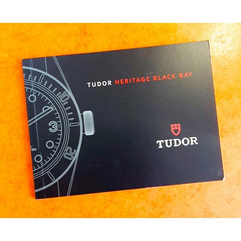 Tudor Heritage BLACK BAY M79030N,79220R,M79250BA Booklet, advertising, italian manual Circa 2016