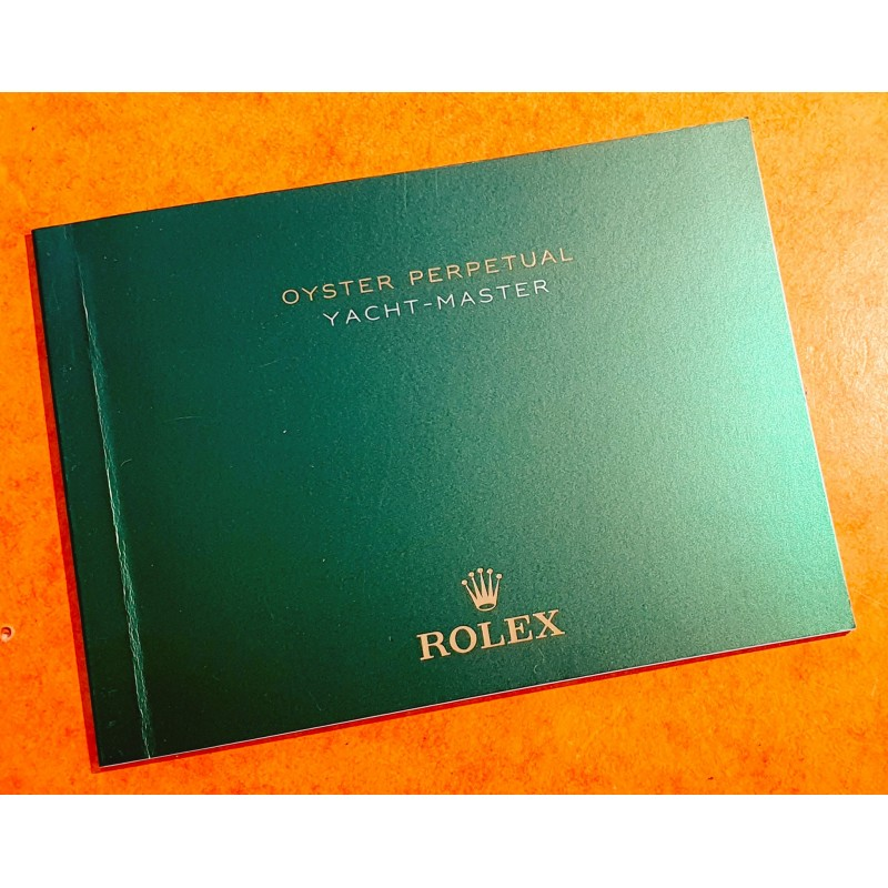 Rolex Oyster Perpetual YACHTMASTER 116622,116680 manuel d'utilisation