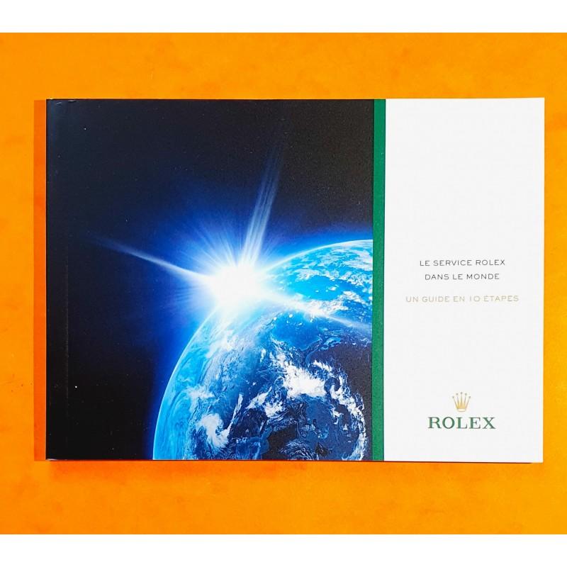 ROLEX MODERN BROCHURE SERVICE FACTORY 10 STEPS...