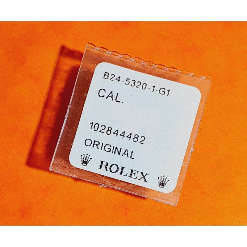 Rolex 242 24-5320 NOS Original Stainless Steel Oyster Tube With Gasket Watch Part for sale