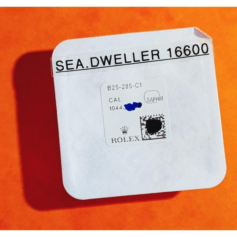 ROLEX ORIGINALE GLACE VERRE SAPHIR ref B25-285-C1 MONTRES ROLEX SEA-DWELLER 16660,16600