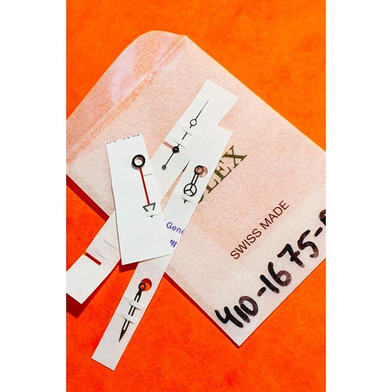 Rolex Genuine NOS Factory handset Luminova ref 410-1675-0 NOS watches GMT MASTER 1675 Cal 1575,1565