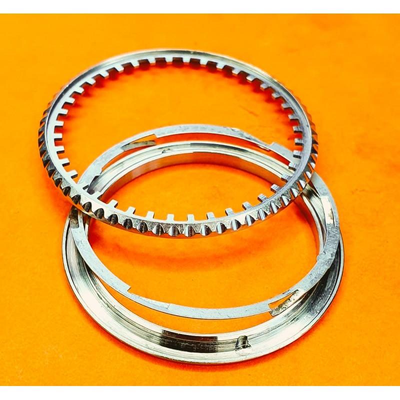 TUDOR watch part Rare kit Bezel ring glass,...