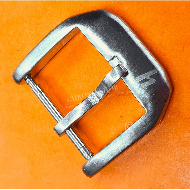 HANHART Genuine Tin Tang buckle Watch strap 23/18mm Leather Bracelet,Rubber band,Nato