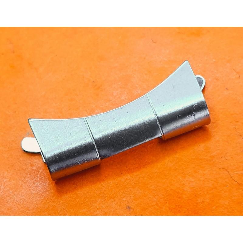 VINTAGE ROLEX STYLE CURVED ENDLINK RIVET WATCH BRACELET 19mm REF 7835, 7205, 6635