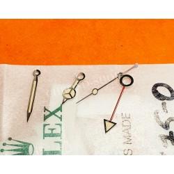 ROLEX RARES 4 x AIGUILLES TRITIUM GMT MASTER 1675 MONTRES VINTAGES COULEUR CRÈME JAUNE CAL 1570,1575,1565,1560