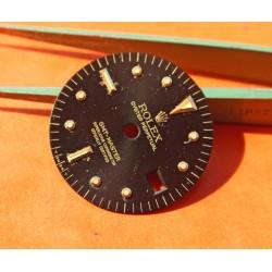 Glossy Black Rolex GMT-Master 1675/3, 1675/8 18k Yellow Gold/Stainless Steel Black Nipple Dial Cal 1575 Beyeler version