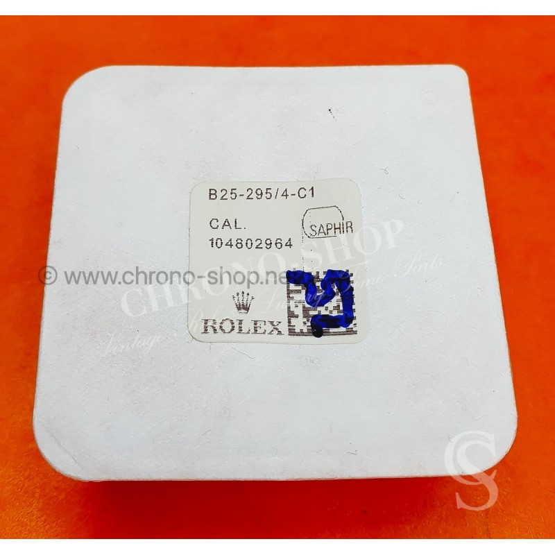 ROLEX ORIGINALE GLACE VERRE SAPHIR NEUF ref B25-295/4-C1 MONTRES ROLEX SEA-DWELLER 116600