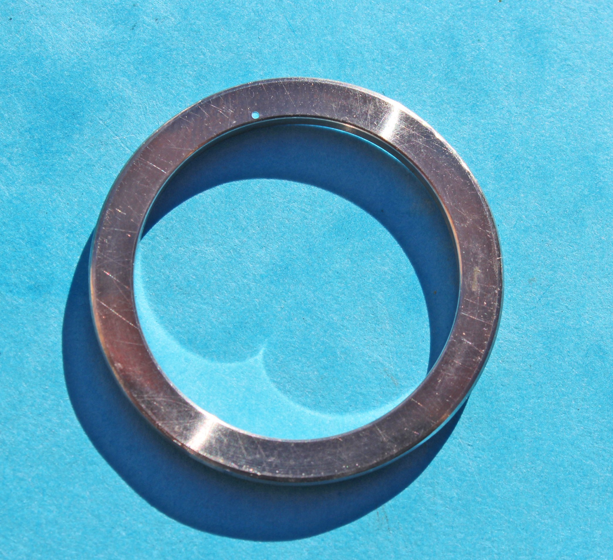 Rare Rolex Midsize Yachtmaster Watch 168622 Crystal Retaining Ring saphir glass