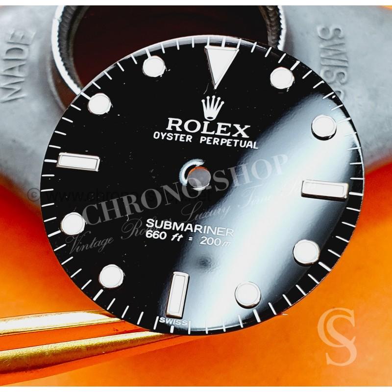 ROLEX Cadran montres Rolex 5513 SWISS Luminova cerclé Submariner BICCHIERINI Calibre automatique 1520,1530