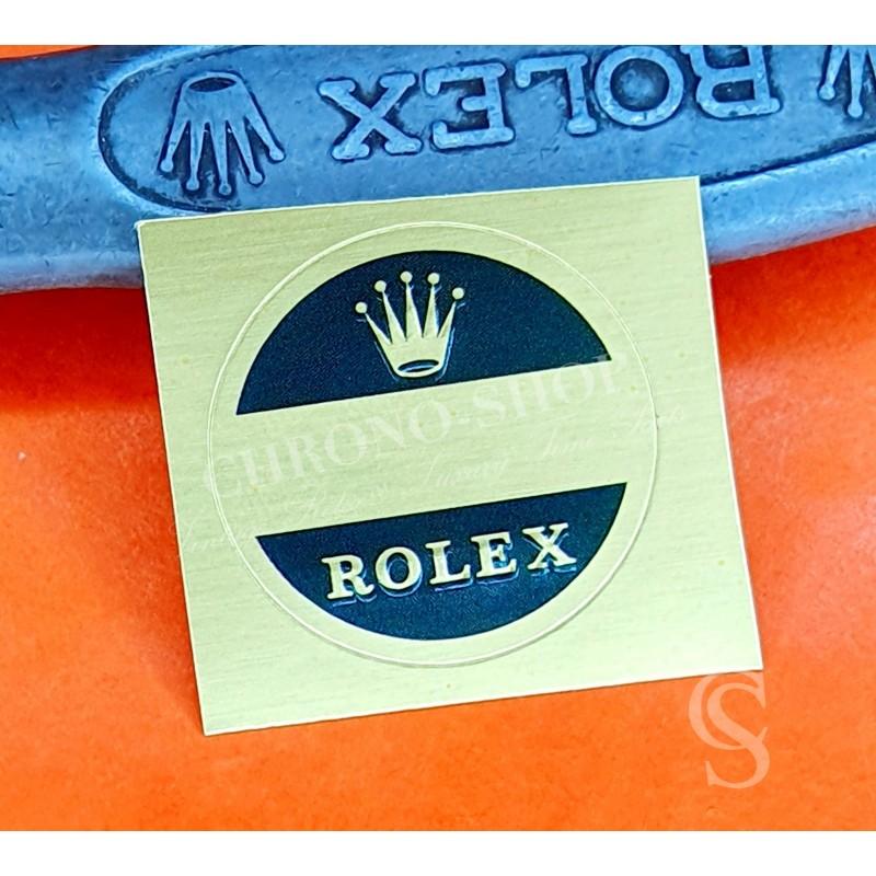 Rolex 60's watch caseback Ø21mm Blank gold Green Sticker Submariner,GMT,Explorer,Daytona 6263,5512,5513,1680,1665,6542,6241