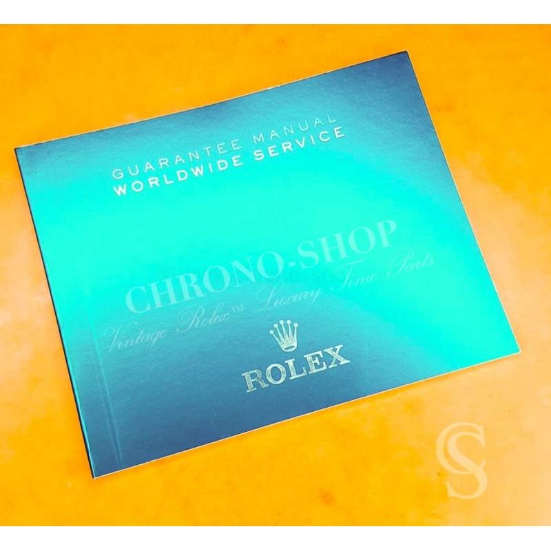 Rolex Original Newest version Worldwide SERVICE Guarantee Service Manual Green color Submariner,DateJust,GMT,Daytona watches