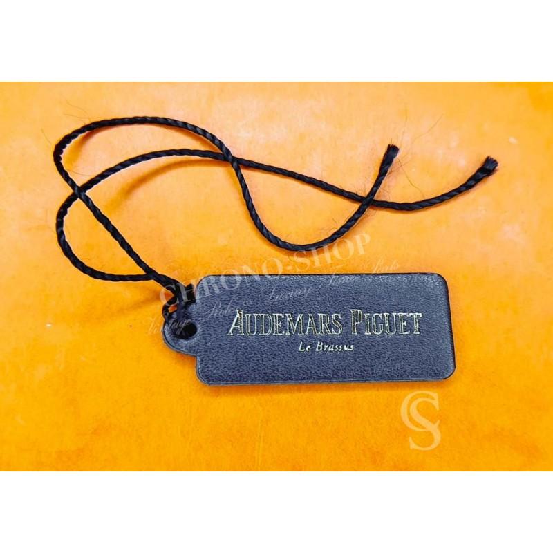 Audemars Piguet Black leather Hang Tag Authentic Watch accessories ROYAL OAK, OFFSHORE, SAFARI, TERMINATOR
