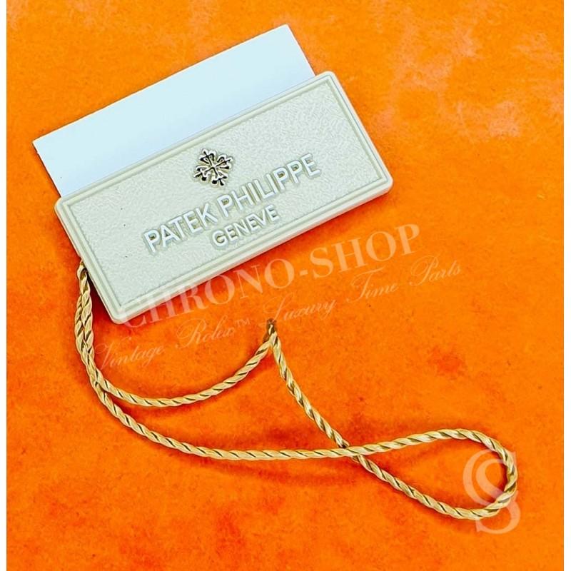 PATEK PHILIPPE Authentique & Rare cachet logo hangtag Montres 5738R-001 Nautilus,Aquanaut,Calatrava,Pilot