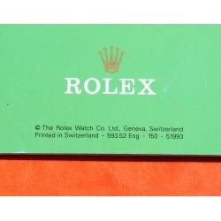 VINTAGE 1993 LIVRET ROLEX DATEJUST 16248, 16234, 69173 68278, 69178 & Lady Datejust