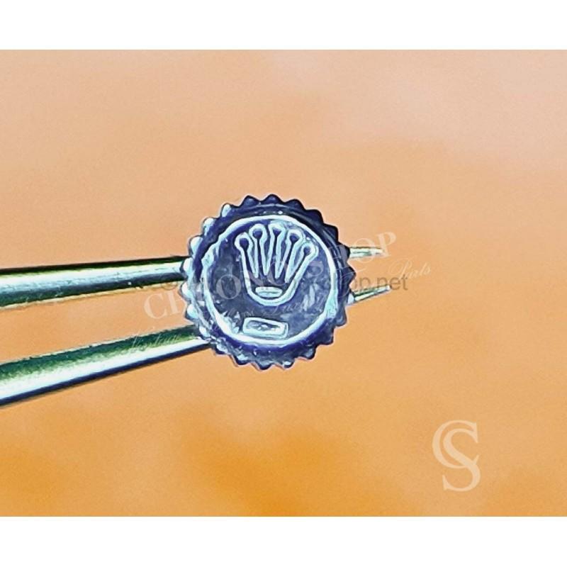 Rolex Rare & Ladies GENUINE Ø5.30mm B24-531-0-G1 CROWN MONOBLOC SSTEEL TWINLOCK