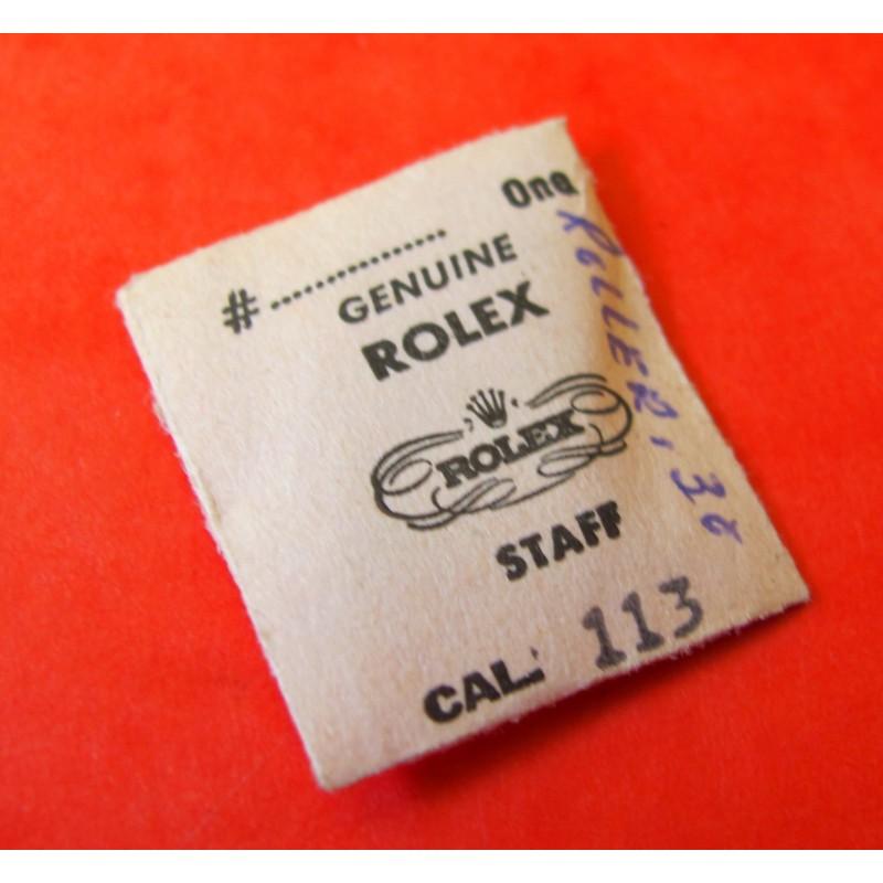 ROLEX PIECES MOUVEMENT REF 113