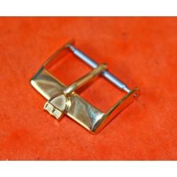 RARE ORIGINALE BOUCLE TUDOR 18mm PLAQUE OR EN 16mm pour bracelets 20mm