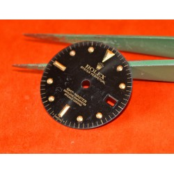 Rolex GMT MASTER BLACK REFLECTS NIPPLE DIAL VINTAGE 16758 -16753 tutone cal.3075