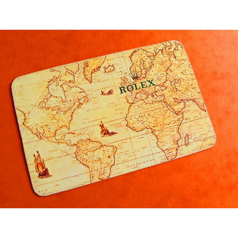 VINTAGE CALENDAR CARD ROLEX 1992-1993