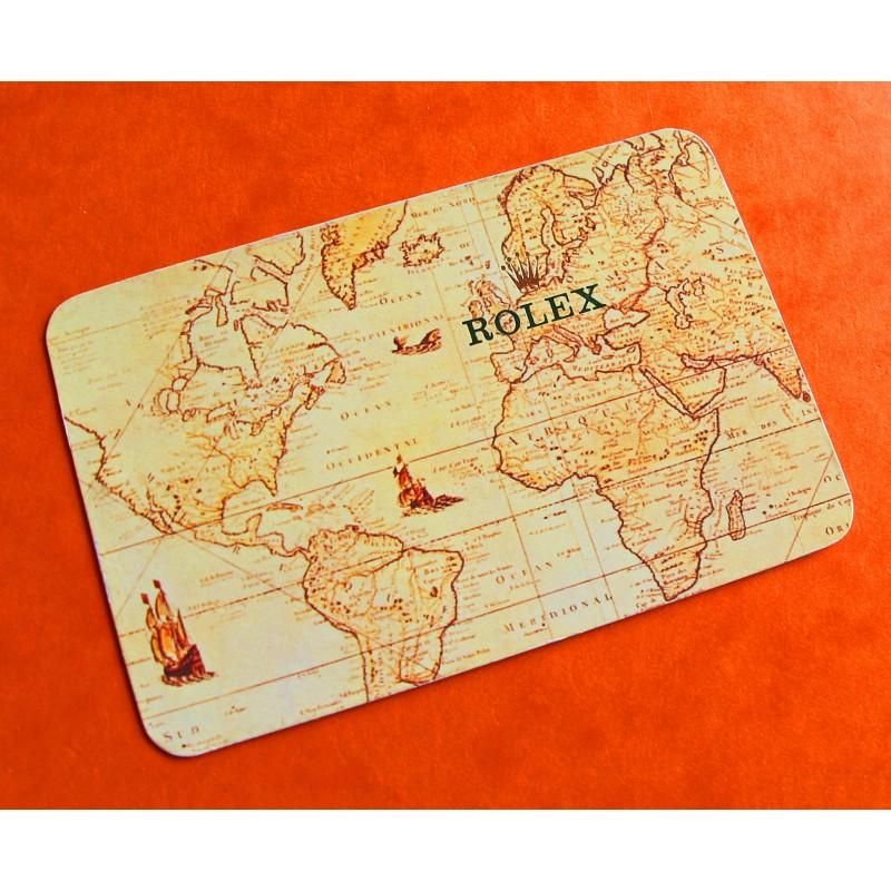 VINTAGE ROLEX CALENDAR CARD 1994-1995