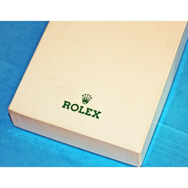 VINTAGE ROLEX GENEVE CARDBOARD IVORY BOX GOODIES WATCHES TINS PARTS TOOLS DIAL HANDS SCREW...