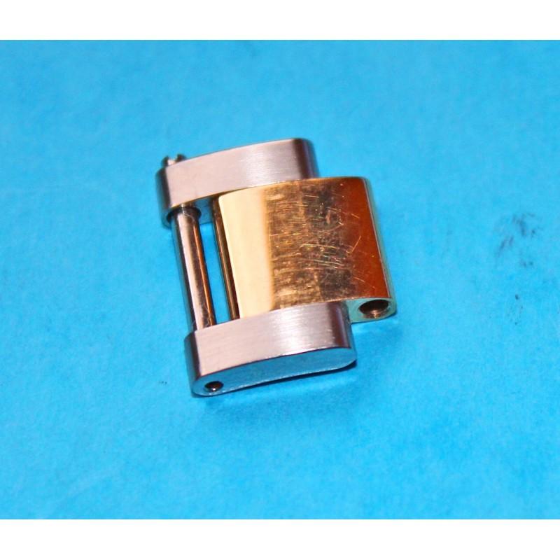 Maillon plein bracelet SUBMARINER 116613 GMT MASTER 116713 or acier bitons blindé Rolex Daytona Yachtmaster 15mm