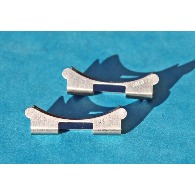 2 EMBOUTS NEUFS BRACELET TUDOR RANGER 7835 361B EN 19mm