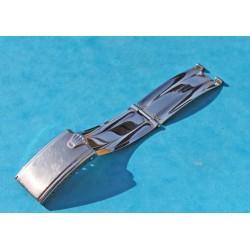 VINTAGE 1-1970 ROLEX FERMOIR DEPLOYANT RIVETS US Version CI  20mm 5512, 5513, 1680, 1665, 5510, 6538, GMT 1675, 16750