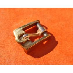 70's Original Vintage OMEGA Gold Plated Buckle 6mm Ladie's bracelets leather strap