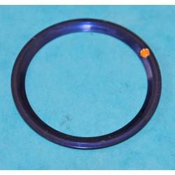 Stunning 90's Dark Blue color Rolex Submariner Tutone 16803, 16613, 16808, 16618, Gold Watch Bezel Insert Part