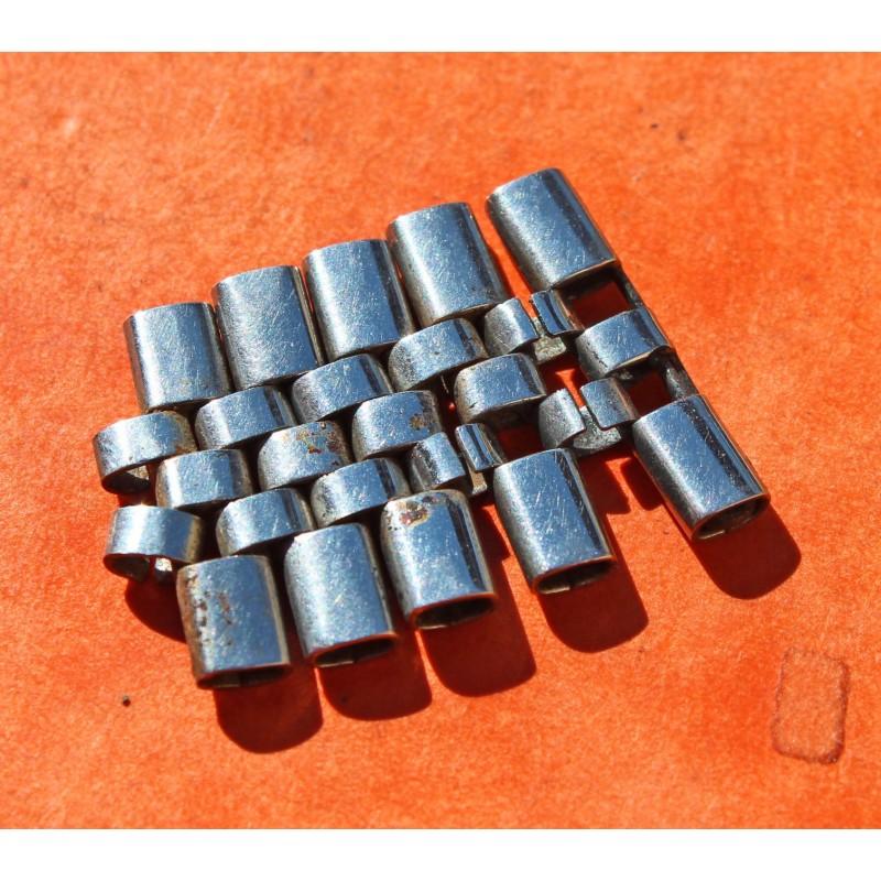 RARE ROLEX 50's EMPTY OVAL LINKS BRACELET GENTS JUBILEE PARTS LINKS SSTEEL for 19/20mm GENUINE
