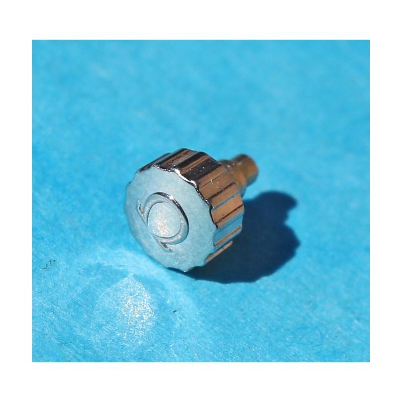 VINTAGE OMEGA 4.55mm WRISTWATCH WINDER CROWN SSTEEL EXCELLENT CONDITION