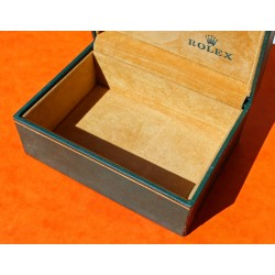 Rolex 70's Green Leather Watch Box Storage 06.00.06 Datejust, Oyster perpetual, ladies, Precision, oyster perpetual date