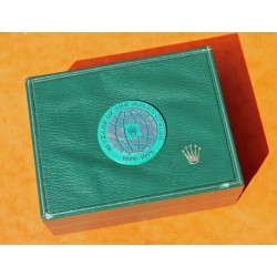 Rare Anniversary 1926-1976 VINTAGE GREEN LEATHER ROLEX BOX 50th Years Of The Rolex Oyster Anniversary ref 11.00.2