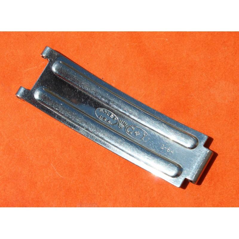 1 x VINTAGE 1964 BLADE C&I ROLEX FOLDED CLASP BUCKLE RIVETS DAYTONA 6263, 6240, 6265 AIR KING PRECISION OYSTER BRACELETS 19mm