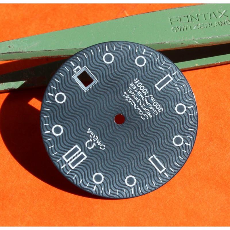 "Original Vintage ""faded blue"" OMEGA Seamaster Date Professional 300m Dark Watch Dial Men's James bond 007 30.50mm diameter"