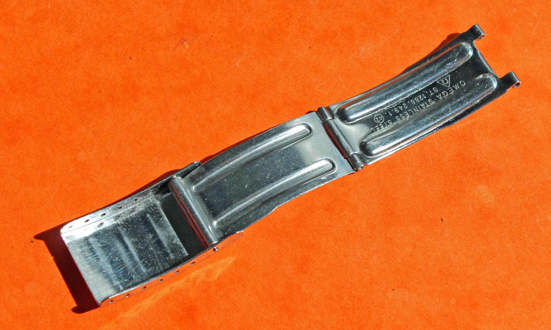 Omega Speedmaster / Seamaster Mark 1286.249.1 Steel Watch Bracelet folded Deployant Clasp
