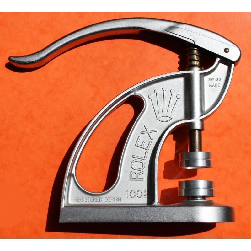 °°°° Rare Rolex 60's Tool Repair ref 1002 Levered Staking Bezel & Crystal Press TROPICS & CYCLOPS °°°°