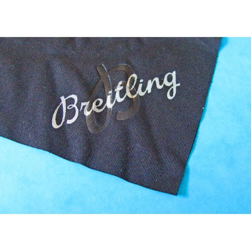 ORIGINAL BLACK BREITLING CLOTH TISSU COATING