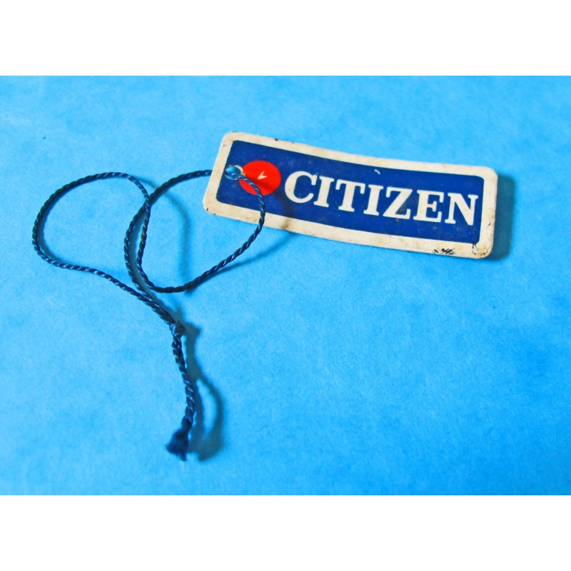 CITIZEN GOODIES COLLECTOR TAGS FROM 80'S