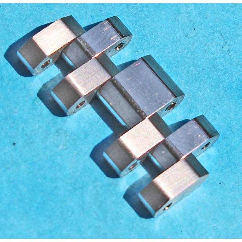 TAG HEUER Mint Monaco Extended link BA0780 bracelet heavy ssteel sixties Brushed / polished finition ref 3084Y, 21.5mm