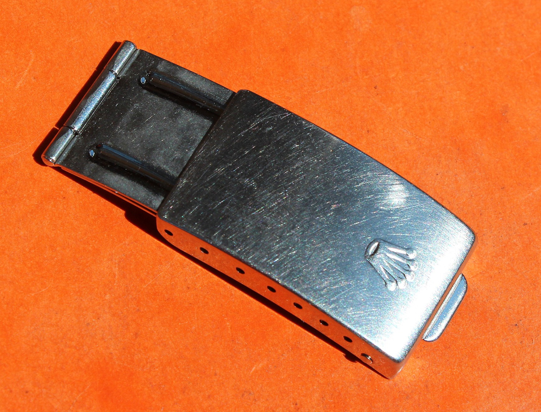 ROLEX 1995 BOUCLE DEPLOYANTE FERMOIR ref 62523H 18 BLINDE/JUBILEE OR ACIER GMT 16713, 16753, 1603, 1503, pour bracelets 20mm