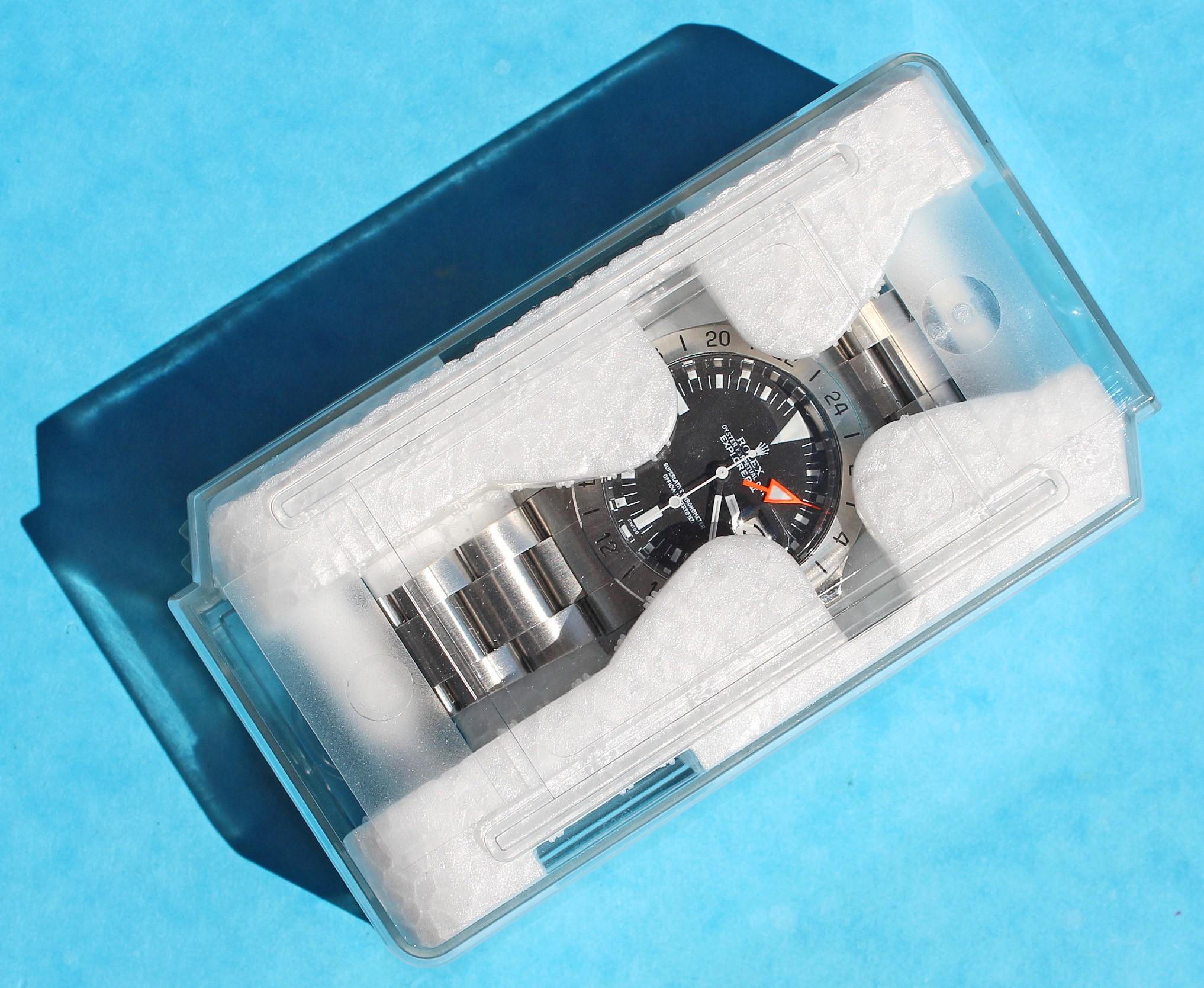 Rolex Mini Boite De Protection Rangement Ecrin De Transport Plastique