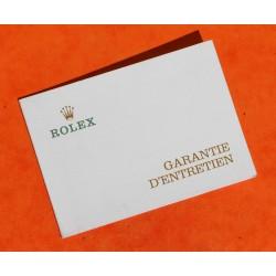 ROLEX RARE GARANTIE D'ENTRETIEN SIGNEE AD PAPIER -REVISION DE MONTRES TUDOR, ROLEX VIERGE