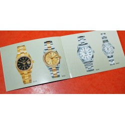 LIVRET Vintage Montres Rolex Oyster Perpetual Date 1997 ref 15238, 15223, 15200, 69160, 15210, 69240, 69190